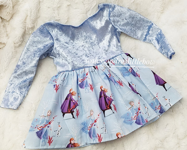 LIMITED Elsa Dress - normal turn around time