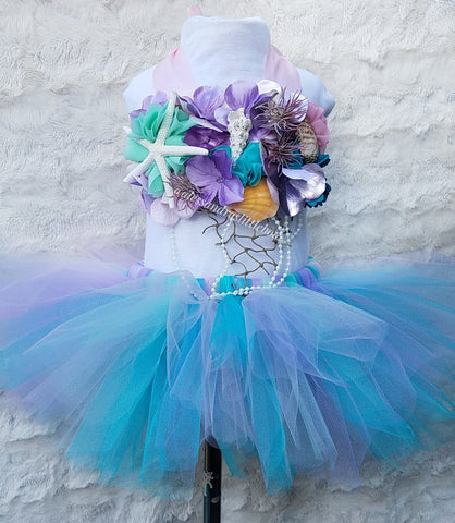 Under The Sea cake smash outfit - AlessandrasLittleBow