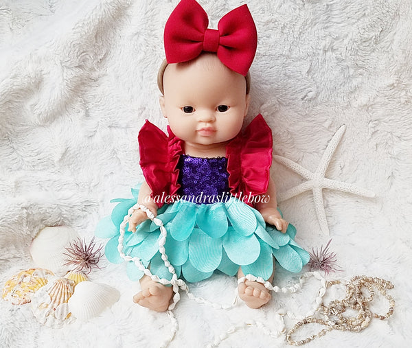 Minikane Doll Little Mermaid Luxury Romper