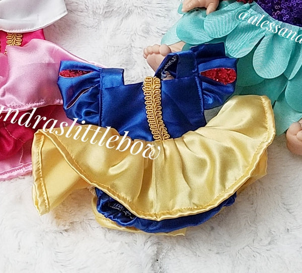 Minikane Doll Snow White Luxury Romper