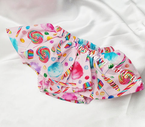 Candy Print Skirted Bloomers