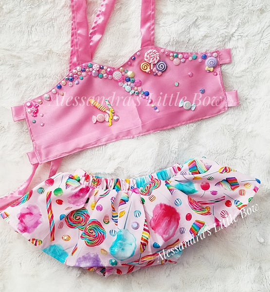 Candy Land Skirted Set