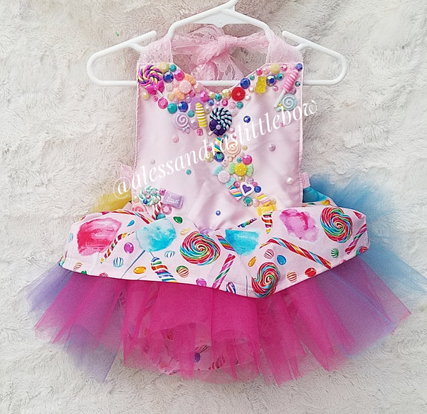 Candy Land Princess Luxury Romper