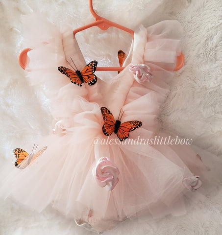 Monarch Butterfly Whimsical Romper