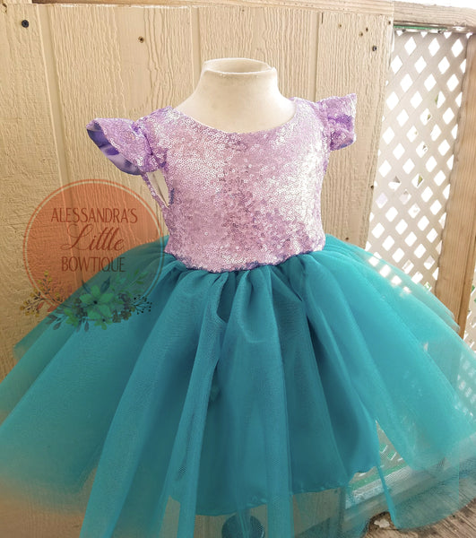 Princess Melody couture dress - AlessandrasLittleBow