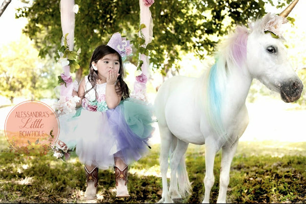 Unicorn Princess couture dress