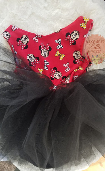 Minnie mouse Playsuit - AlessandrasLittleBow