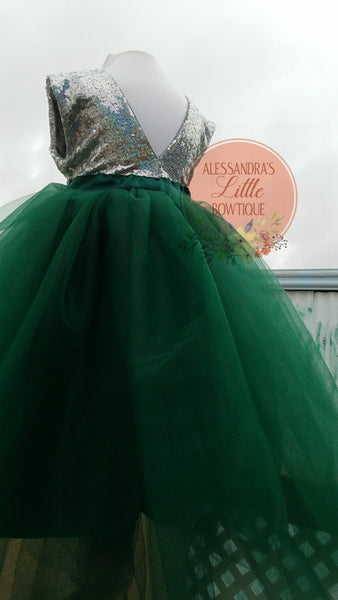 Princess Esmeralda Couture Dress - AlessandrasLittleBow