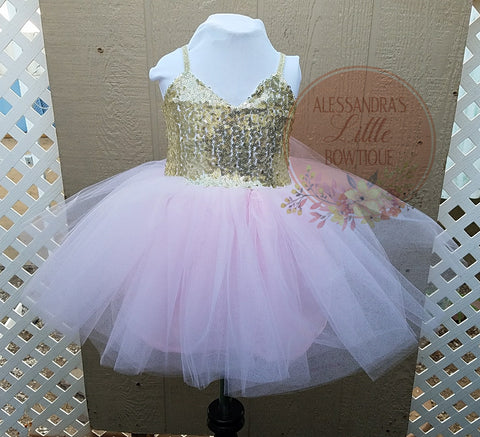 Princess Gracie Dress - AlessandrasLittleBow