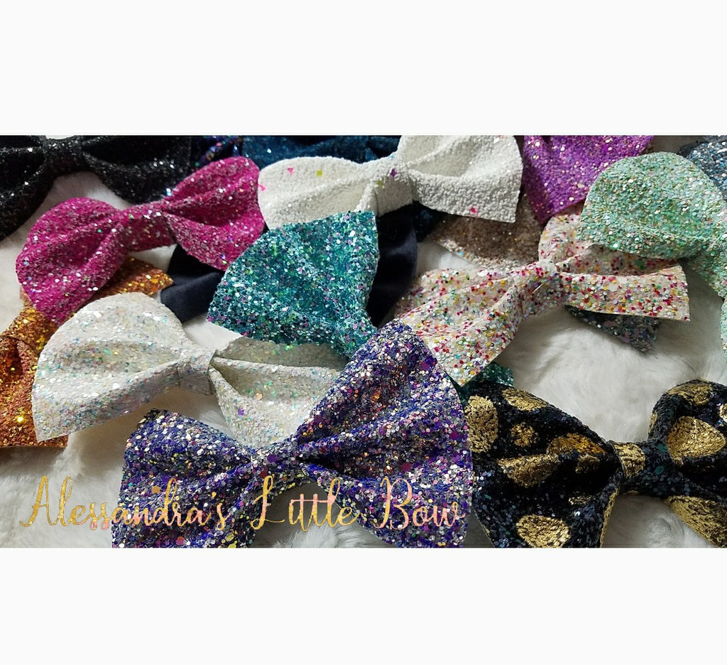 Statement Bows 45 colors to choose from