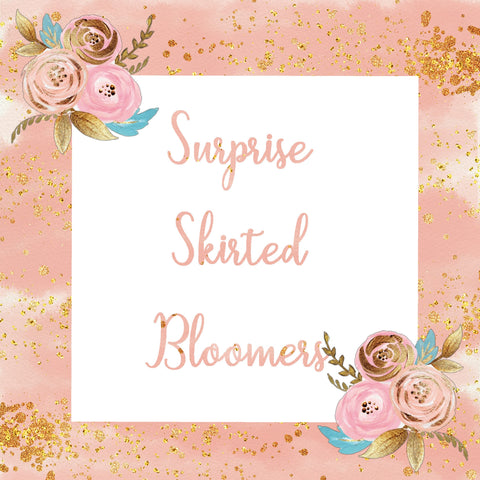 Surprise Skirted Bloomers