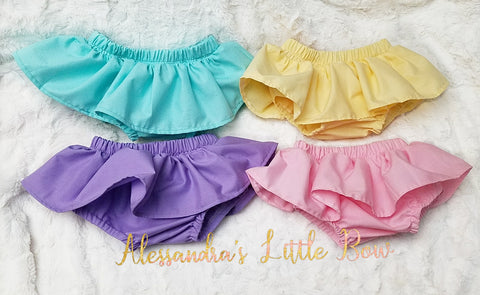 Pastel skirted bloomers Bundle - AlessandrasLittleBow