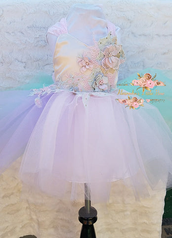 Isabella Couture Dress - AlessandrasLittleBow