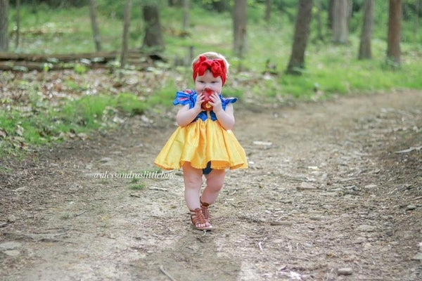 Snow White Luxury Romper