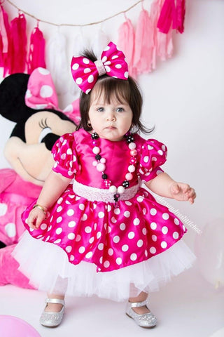 Minnie Mouse Couture Dress