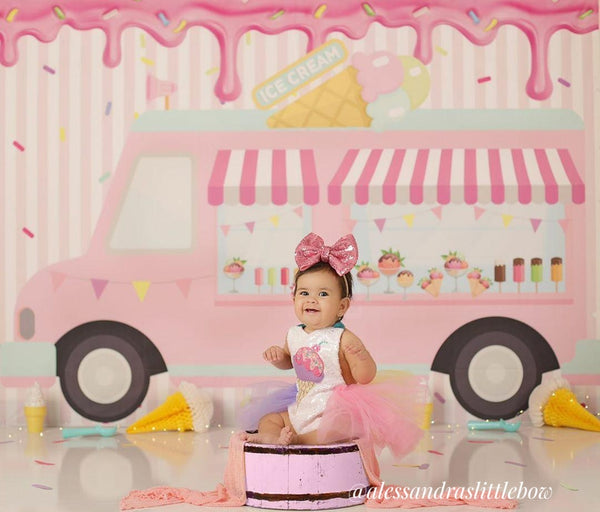 Ice Cream Sprinkles Tutu Romper