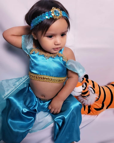 Princess Jasmine Inspired Set