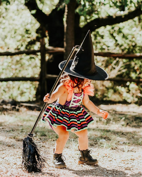 Pretty Witch Romper