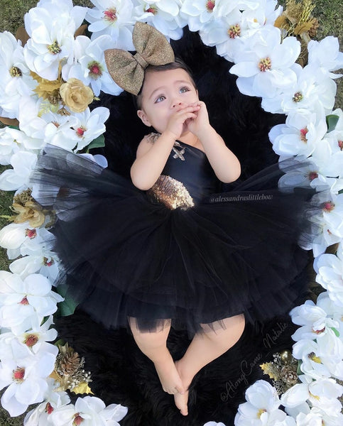 Brielle Couture Dress - AlessandrasLittleBow
