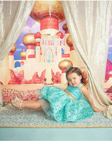 Princess Jasmine Lace Couture Dress