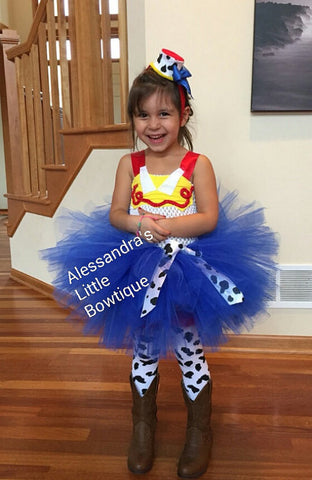 Jessie The Cowgirl Tutu Dress