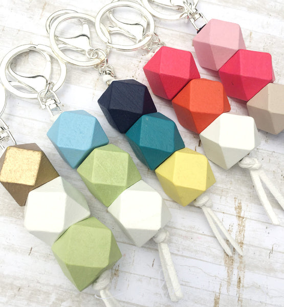 Geo collection - keyrings
