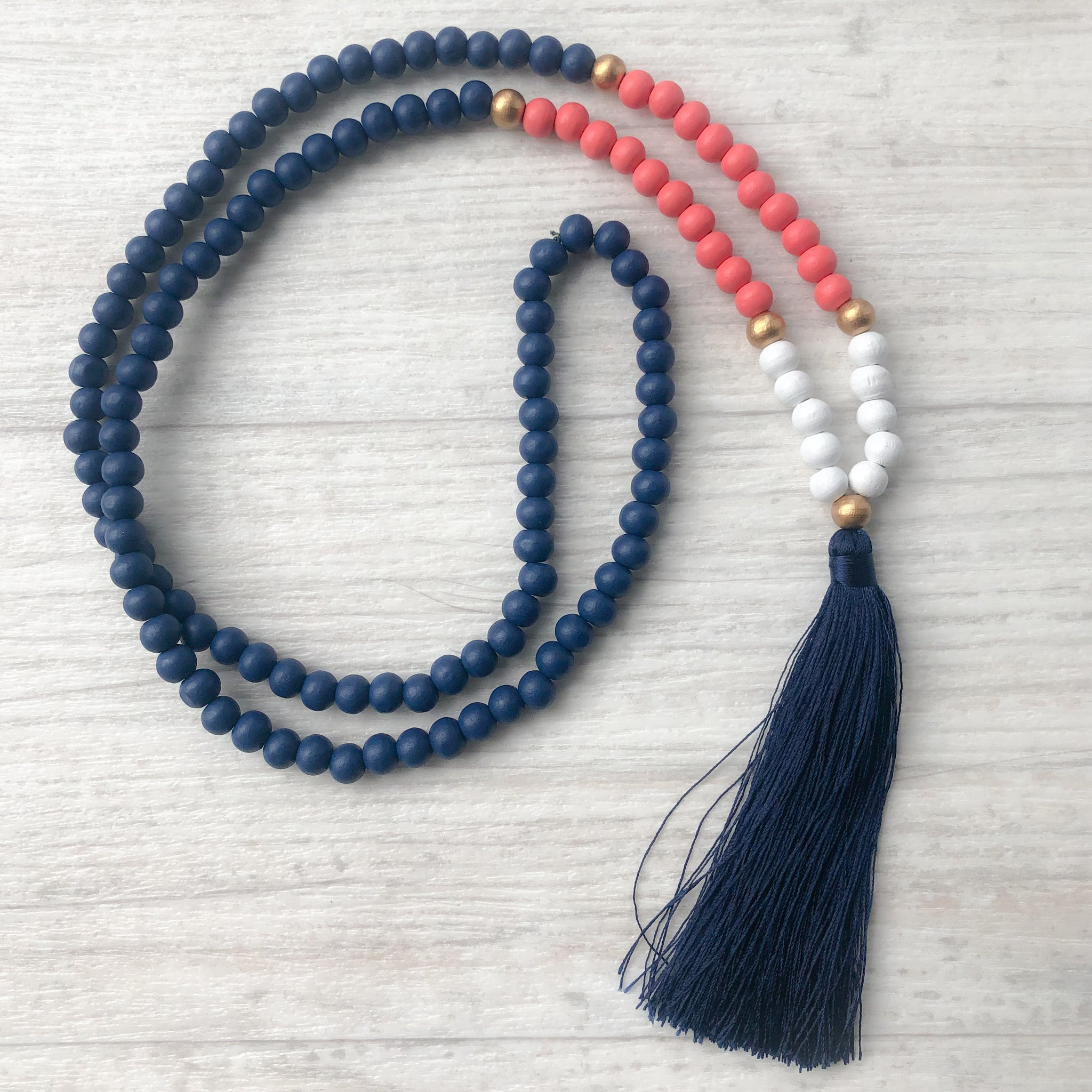 Tassel necklace - Puriri Bay