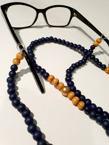 Beaded Glasses chain - Alyssa