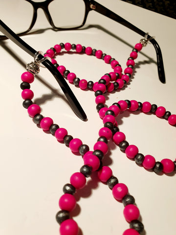 Beaded Glasses Chain - Emily