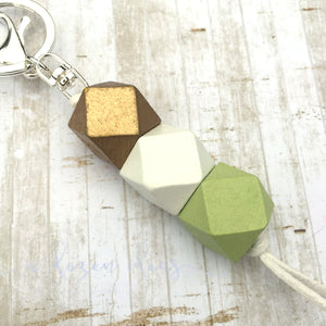Geo Keyring - Mint chip