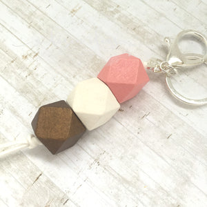 Geo Keyring - Hot Chocolate