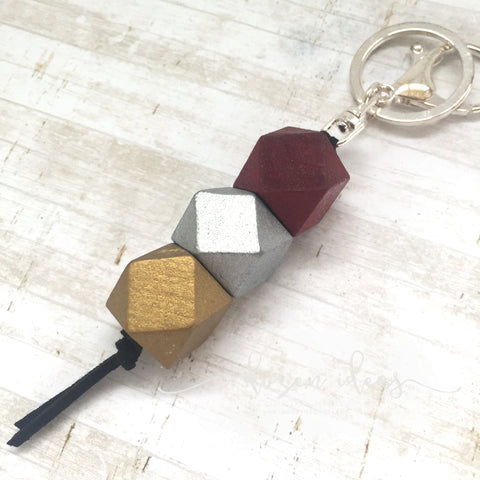 Geo Keyring - Wine Time