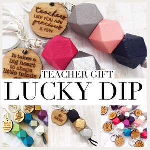 Geo Keyring - Teacher - LUCKYDIP