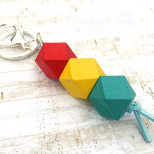 Geo Keyring - Traffic Lights