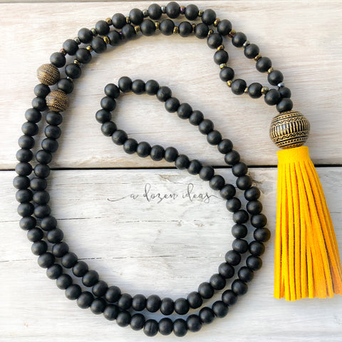 Tassel necklace - Tongariro