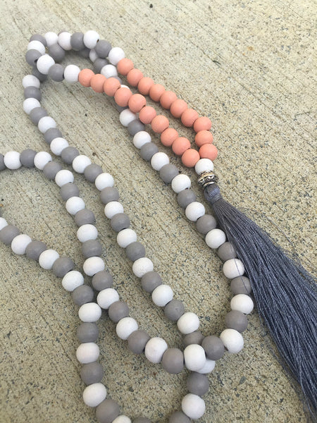 Tassel Necklace - Greymouth