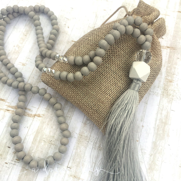 Tassel Necklace -  Brunner