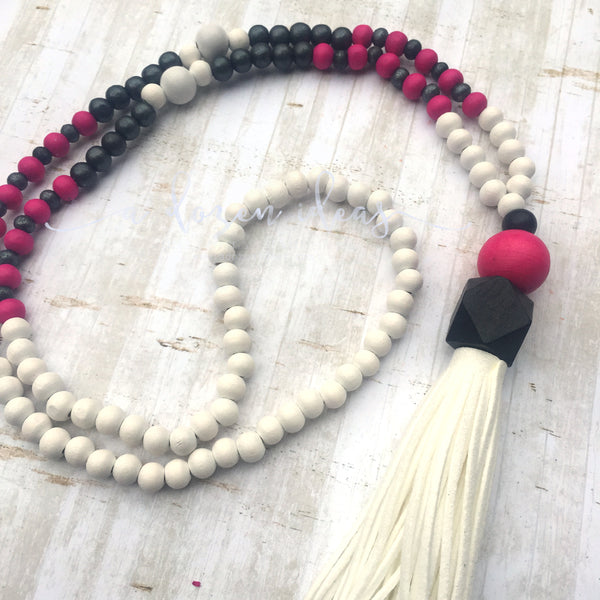 Tassel Necklace - Nic's Design - Shakespear Park