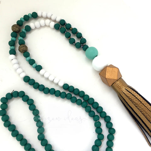 Tassel Necklace - Aspiring