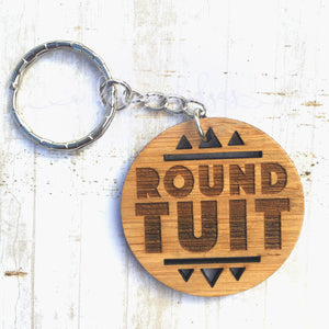 Round Tuit - Medium keyring