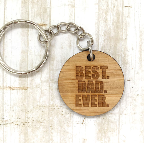 Tag Keyring - Best Dad Ever