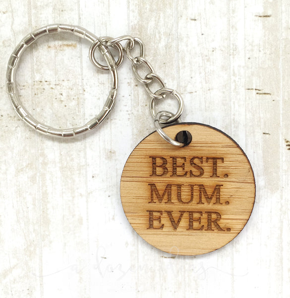 Tag Keyring - Best Mum Ever