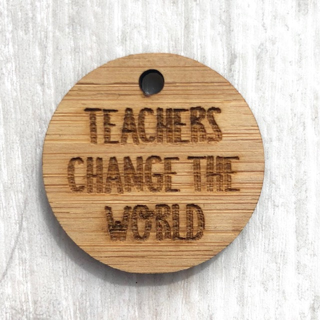 Add-on tag Teachers change the world