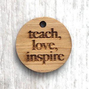 Add-on tag - Teach, Love, Inspire