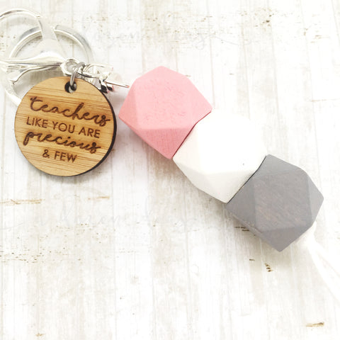 Geo Keyring - Marshmallow - teachers like you