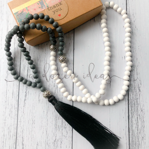 Tassel necklace - Waipawa