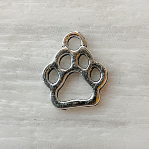 Add on charm - paw print