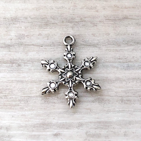 add on charm - snowflake