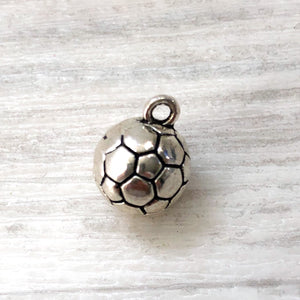 add on charm - soccer ball