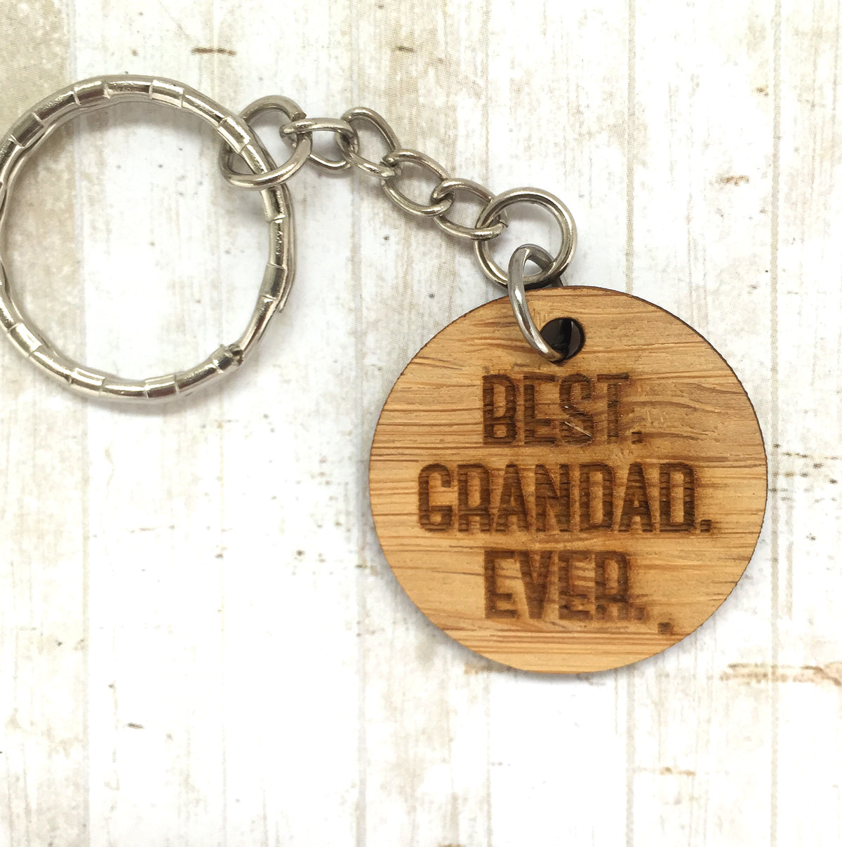 Tag Keyring - Best Grandad Ever